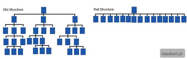 ساختار عمودی وافقی